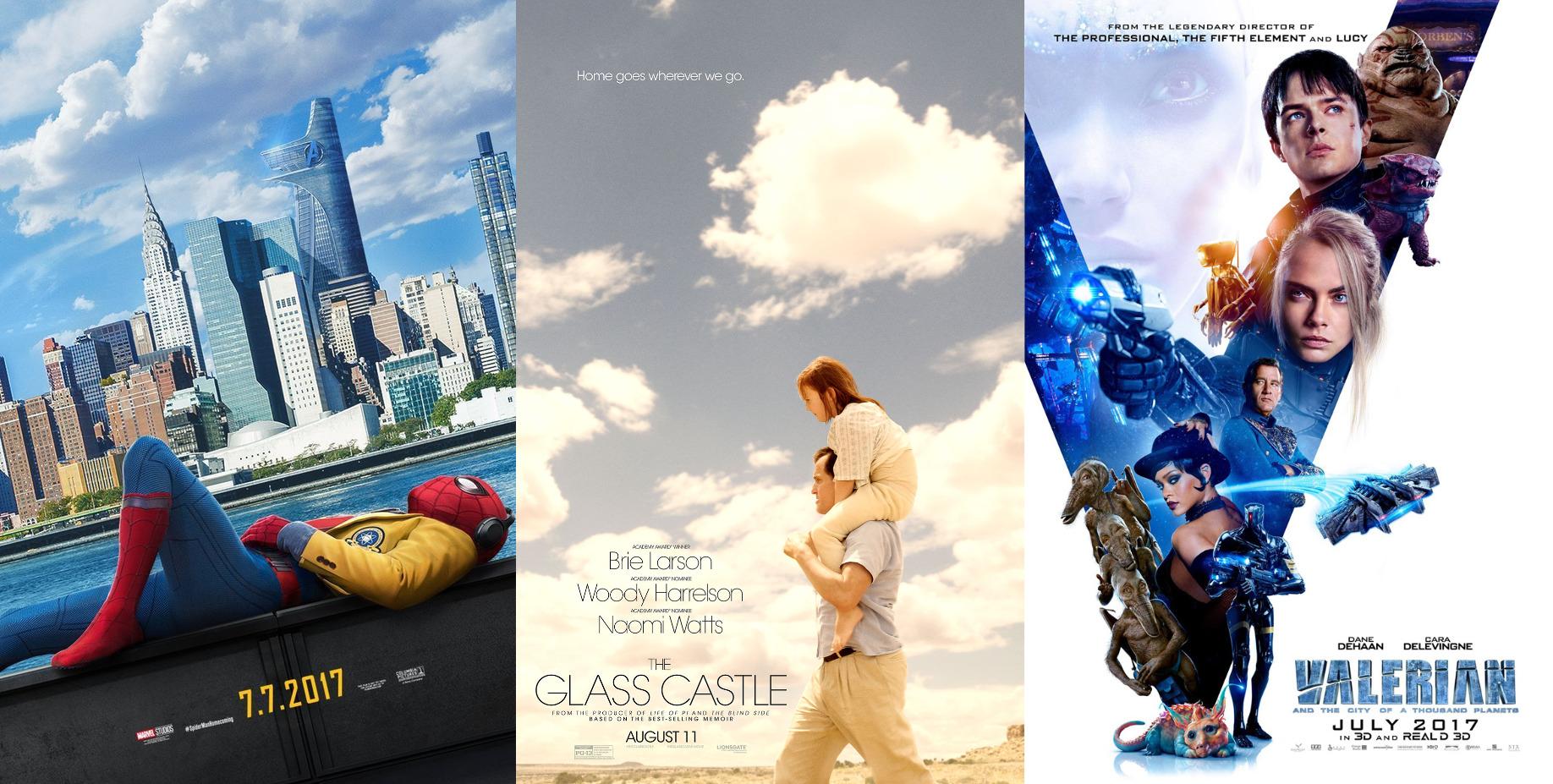 Trailer-Watchin' Wednesday: Spider-Man, Valerian, The Glass Castle