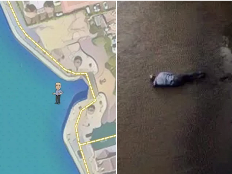 Poor Guy Who Got Caught In An Embarrassing Moment On Snapchat Maps