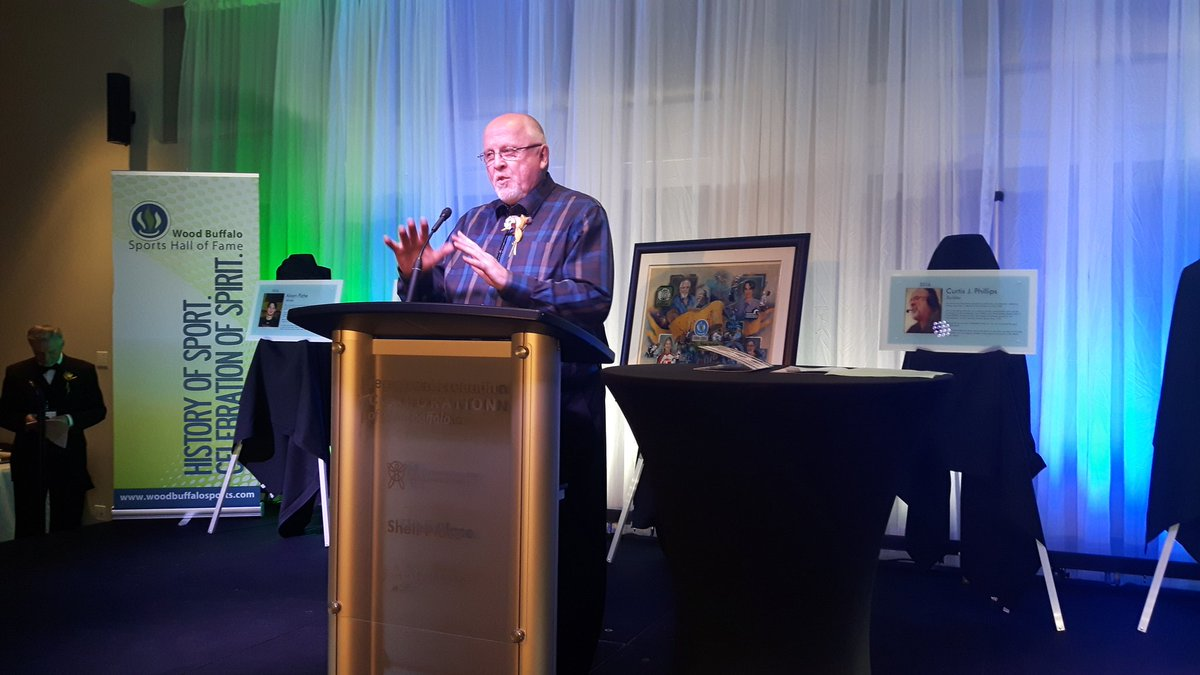 """""""I do It for the Love of Sports,"""" Wood Buffalo Sports Hall of Fame Inducts New Members"""