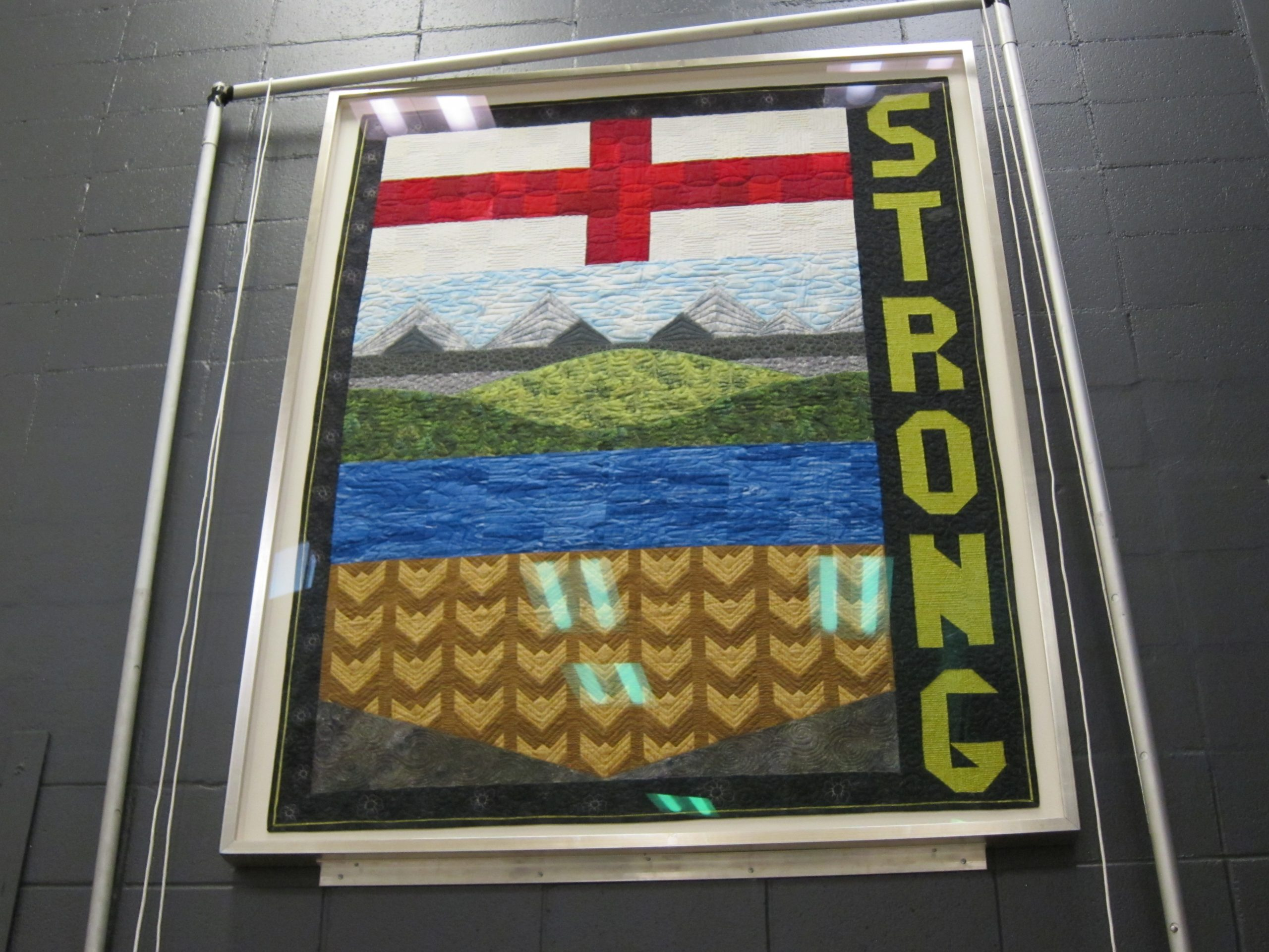 'Alberta Strong' Quilt Unveiled At MacDonald Island Park