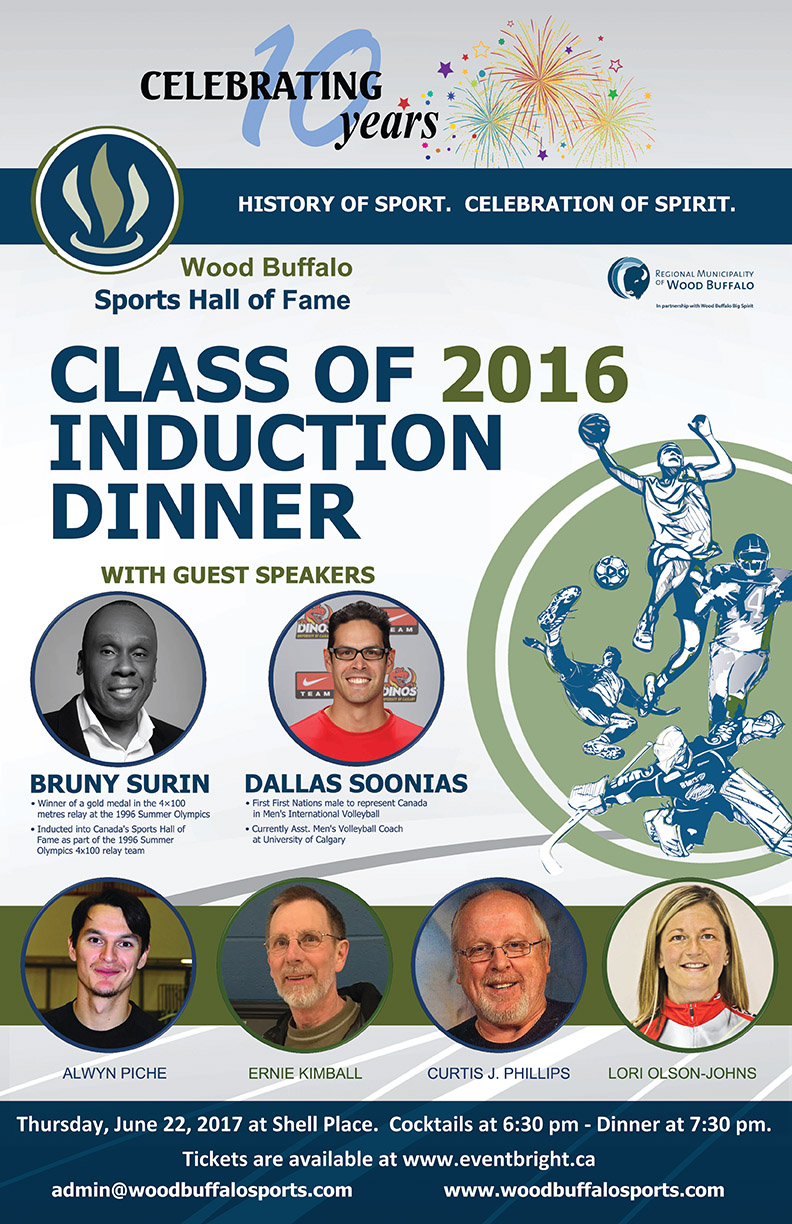 Wood Buffalo Sports Hall of Fame Set For New Inductees
