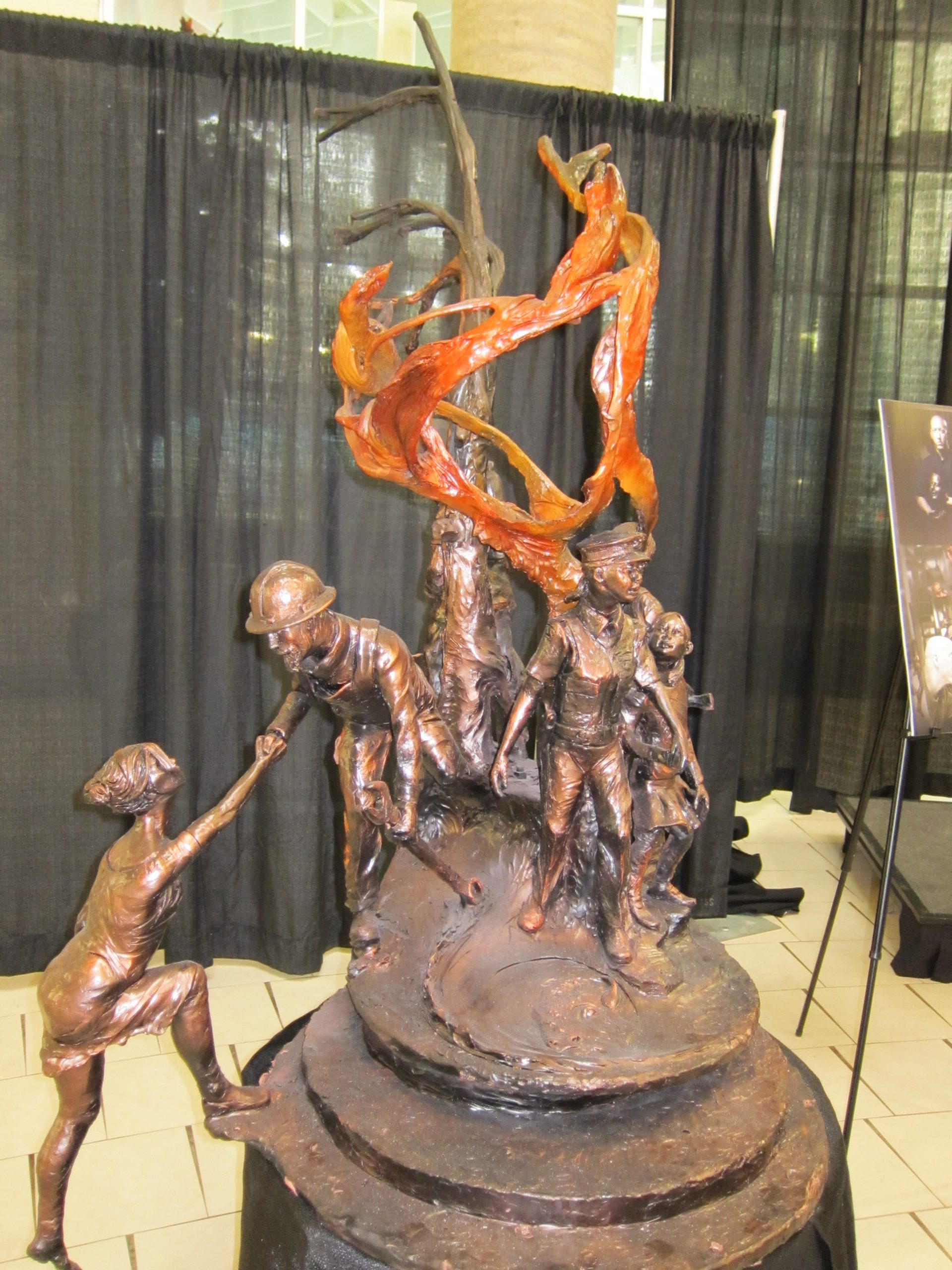 Memorial Park and First Responders Sculpture Getting Closer to Fruition