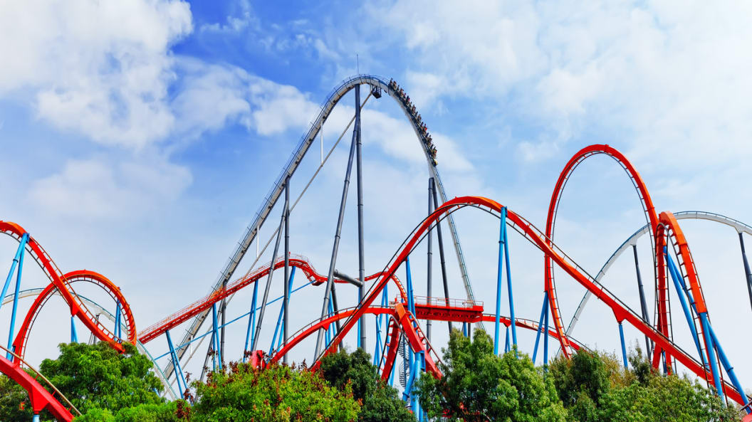 The Scariest Roller-coaster In The World