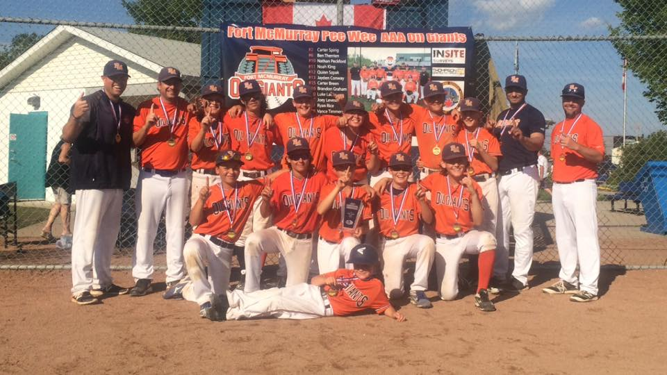 Peewee Triple-A Oil Giants Crowned Kings Of Alberta
