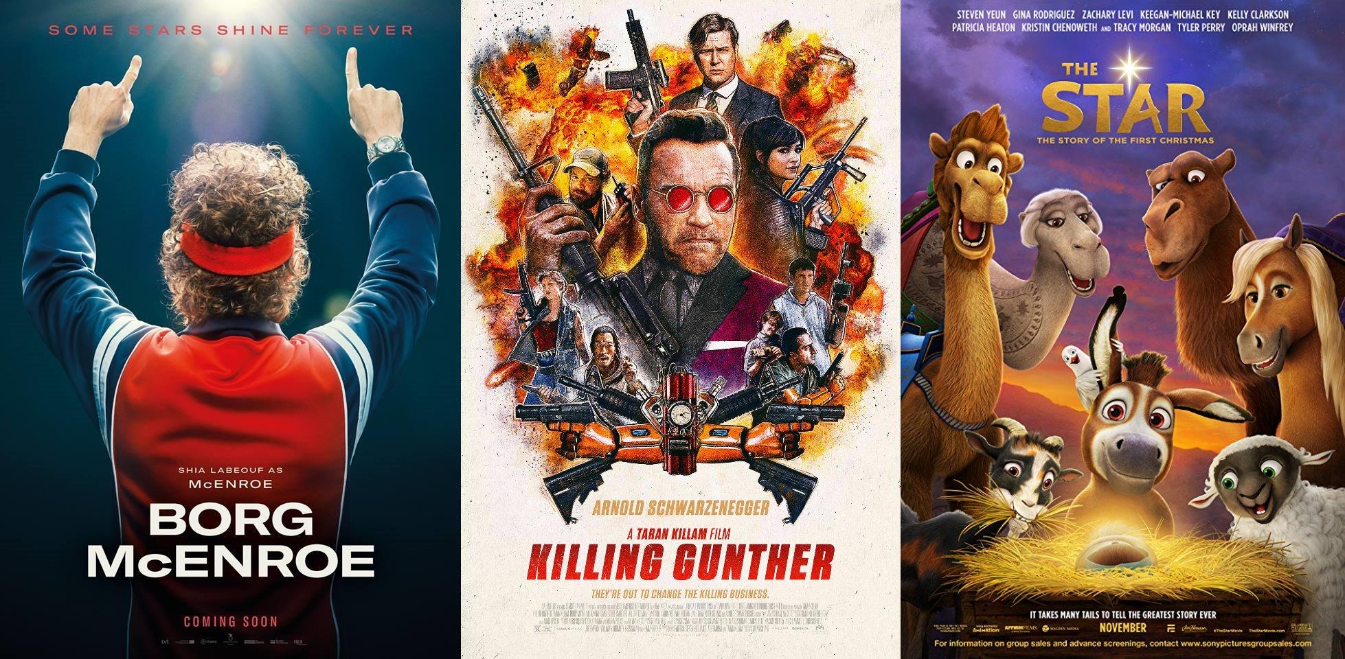 Trailer-Watchin' Wednesday: Borg vs. McEnroe, The Star, Killing Gunther