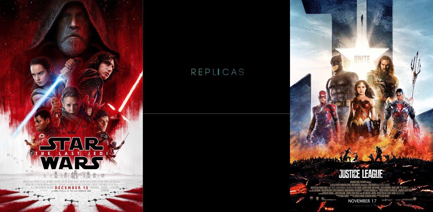 Trailer-Watchin' Wednesday - Replicas, Justice League, Star Wars: The Last Jedi