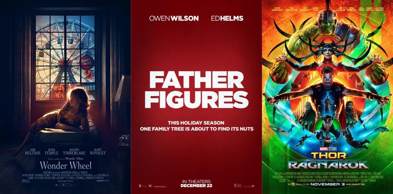Trailer-Watchin' Wednesday: Wonder Wheel, Father Figures, Thor: Ragnarok