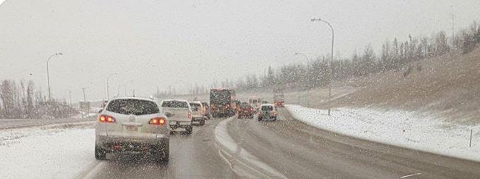 Snowfall Creating Slippery Conditions On Area Highways: RCMP