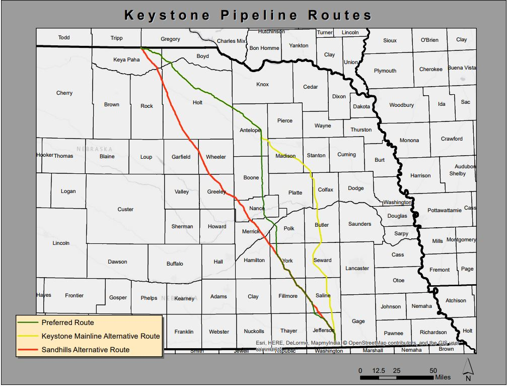 TransCanada Evaluating Nebraska's Decision On Keystone XL Pipeline
