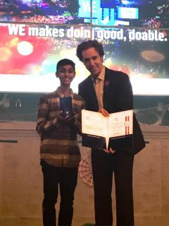 EcoYOLO Co-founder and Grade 9 Student Wins National Volunteer Award