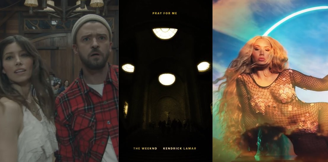 New Music from Justin Timberlake, Iggy Azalea, and The Weeknd/Kendrick Lamar