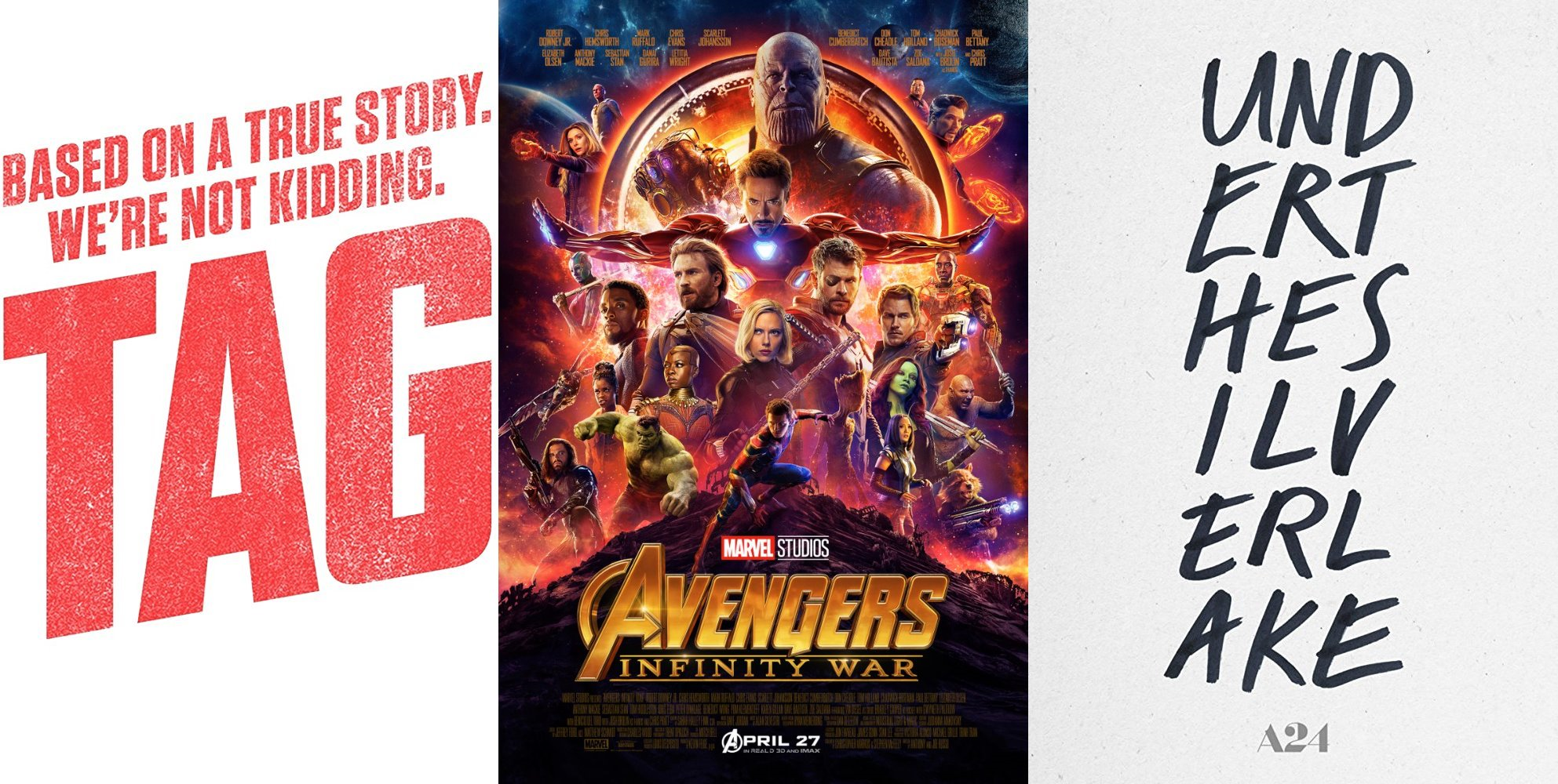 Trailer-Watchin' Wednesday - Avengers: Infinity War, Tag, Under the Silver Lake