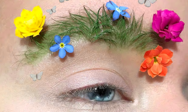 New Trend: Garden Eyebrows