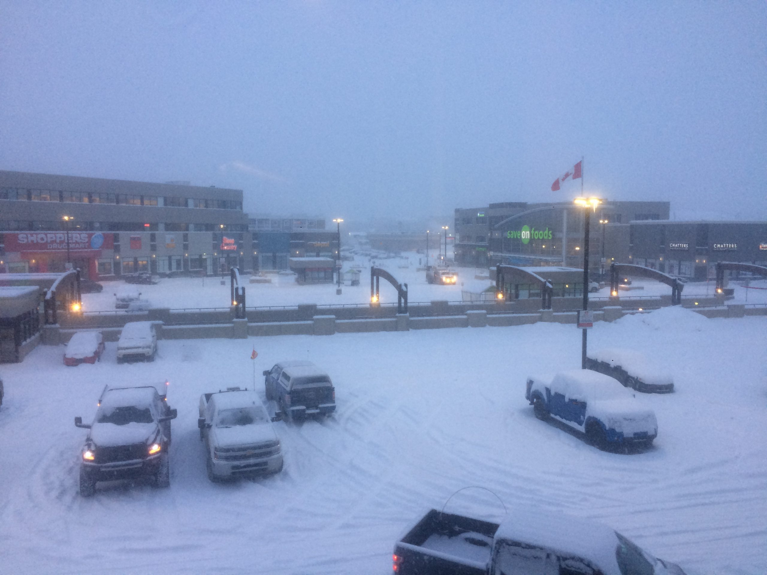 Heavy Snowfall Creating Poor Driving Conditions