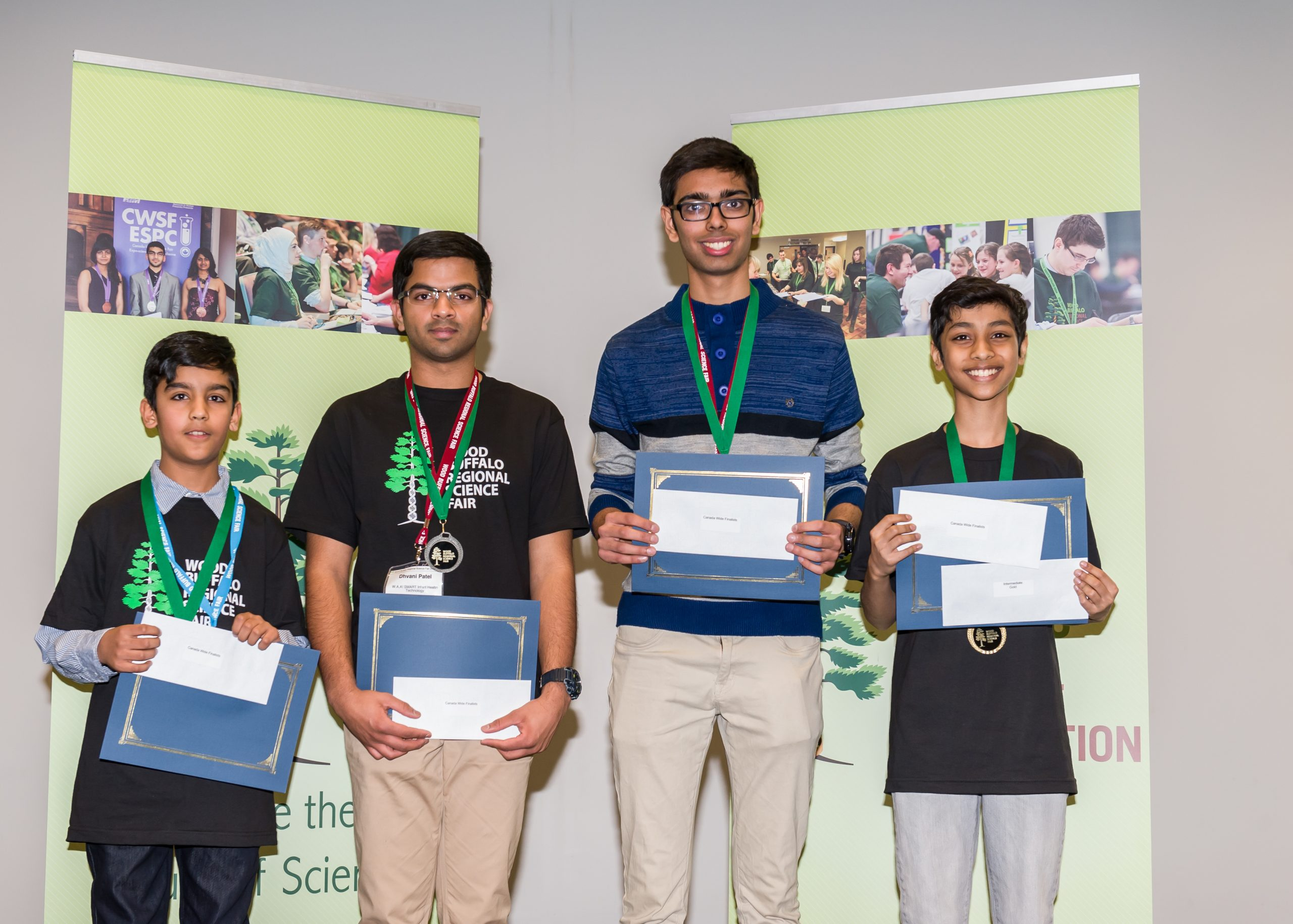 Four FMPSD Students Off To Ottawa For Canada Wide Science Fair
