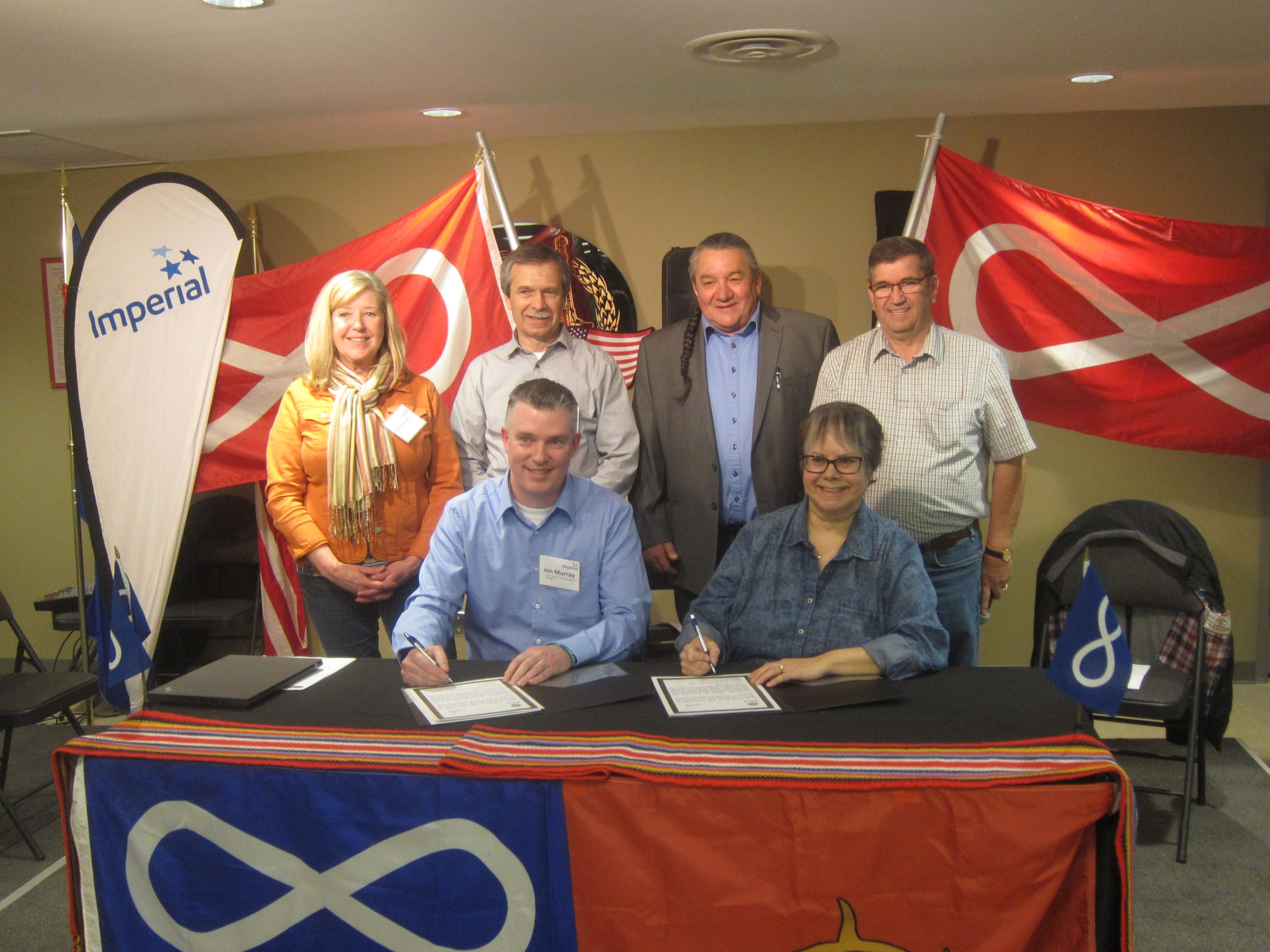 McMurray Metis Local 1935 Sign Long-Term Agreement With Imperial Oil
