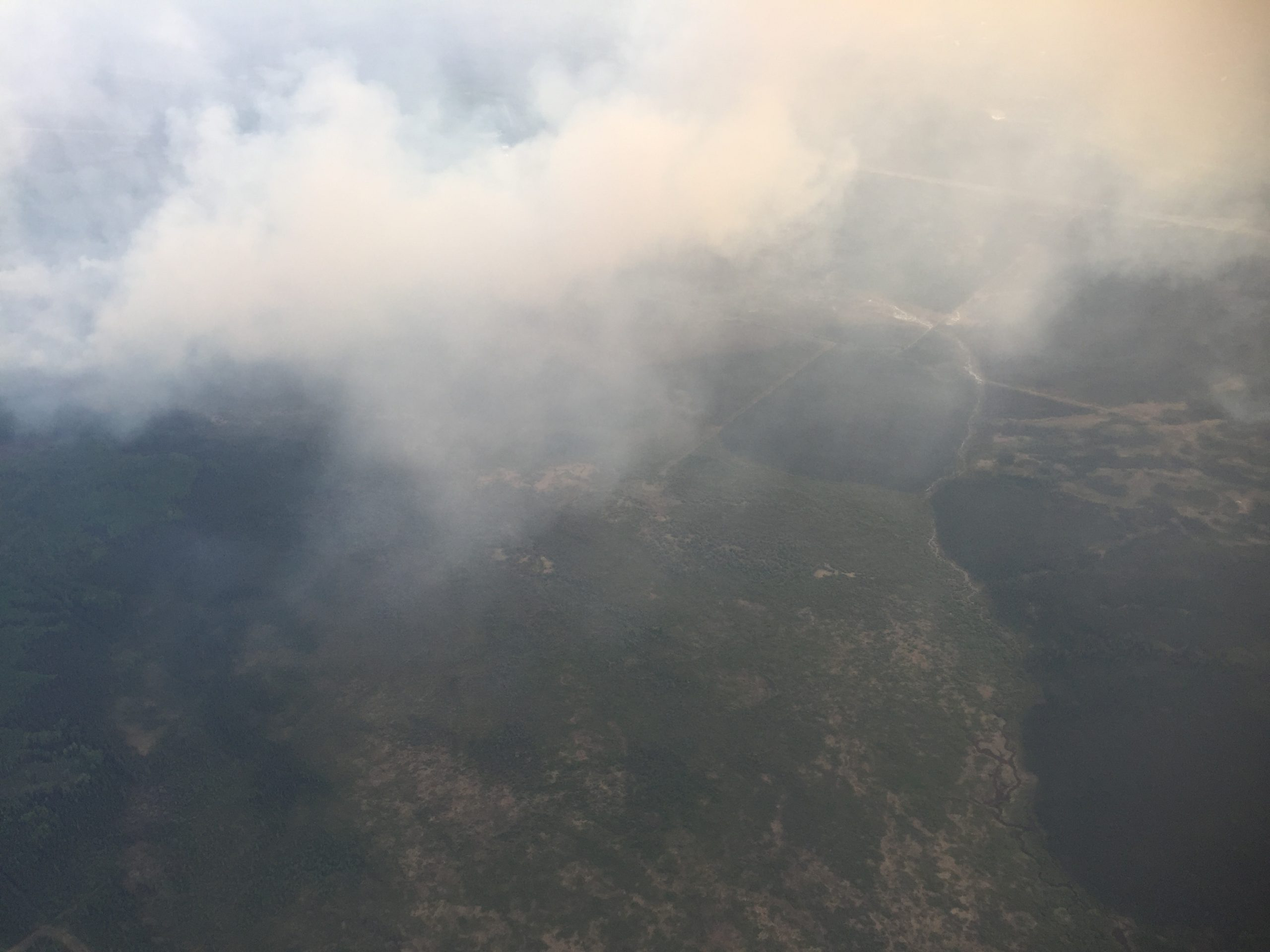 Janvier Wildfire 'Being Held' - No Longer An Imminent Threat To Community
