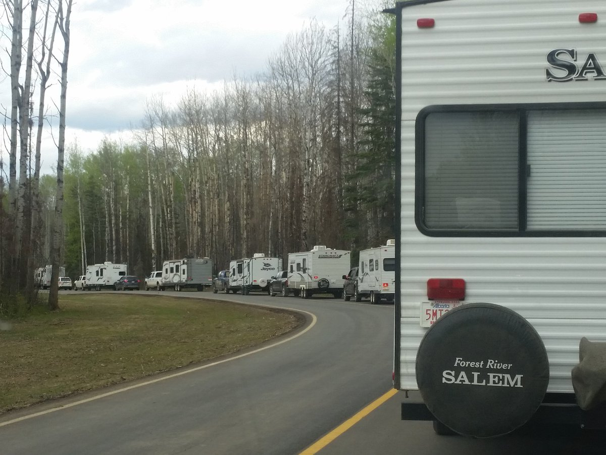 Huge Lineup, Packed Crowds For Reopening of Gregoire Lake Provincial Park