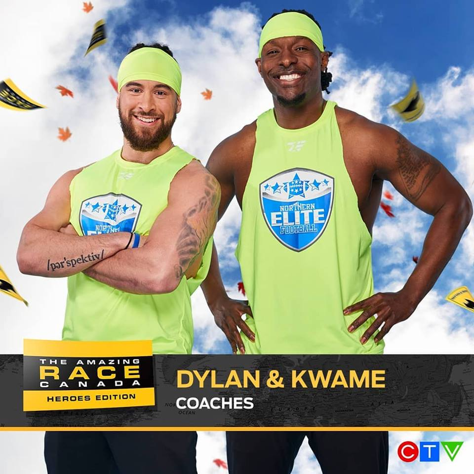 Local Football Coaches Take Their Talents To Amazing Race Canada