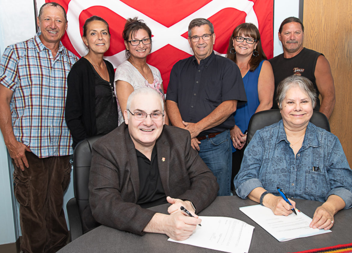 McMurray Métis Sign MOU To Combat Housing Crisis