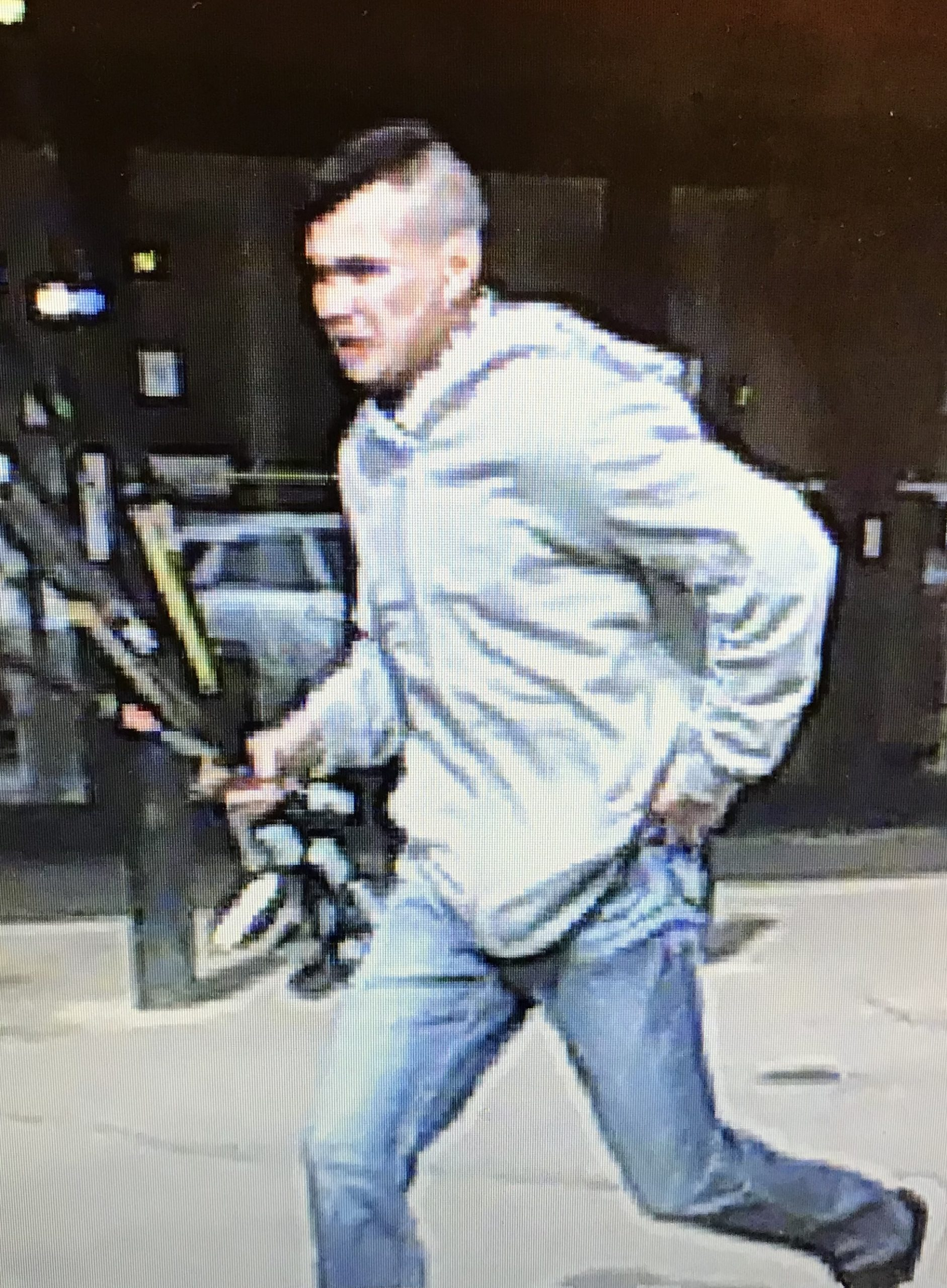 Wood Buffalo RCMP Search For Shoplifting Suspect