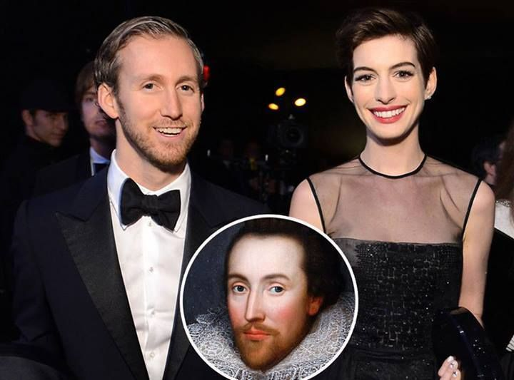 Conspiracy Theory That Anne Hathaway's Husband Is Actually Shakespeare