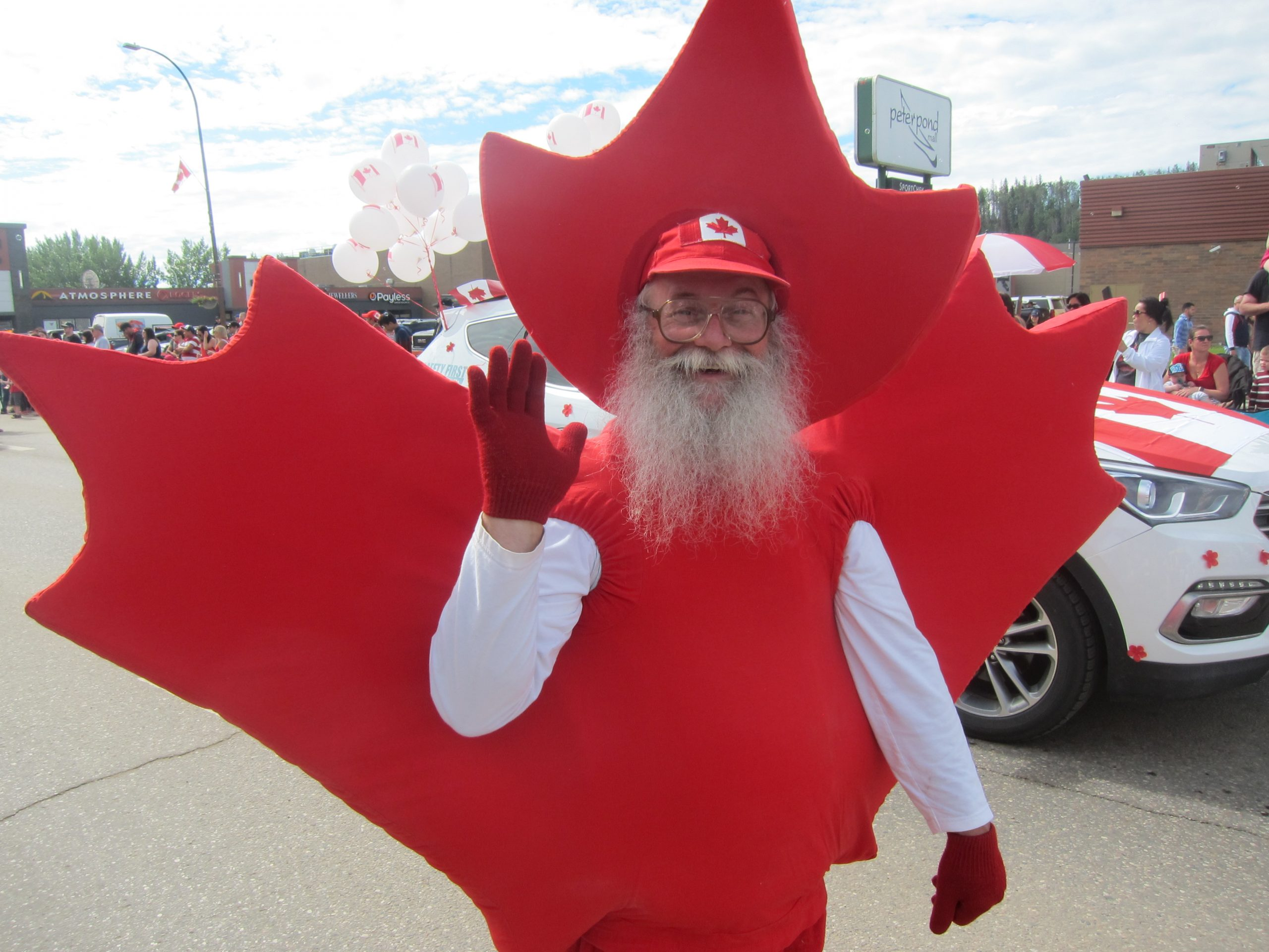 Thousands Of Fort McMurrayites Take To The Streets For Canada 151 Parade
