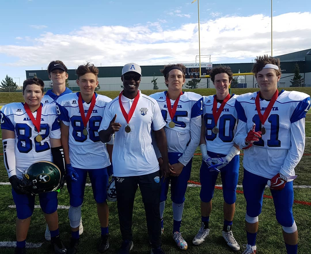 Alberta Crushes Manitoba At U-16 Western Canada Football Championship