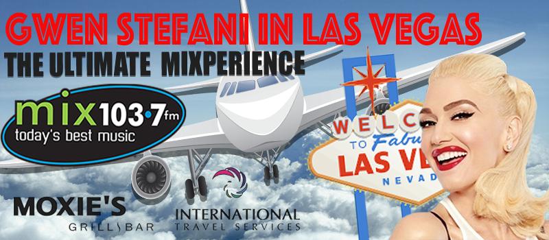 Gwen Stefani Ultimate Mixperience in Las Vegas!