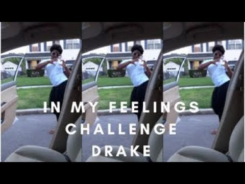 #InMyFeelings Challenge- People Are Jumping Out Of Cars!