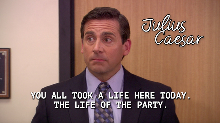 Shakespeare Play Summed Up In a Quote from The Office