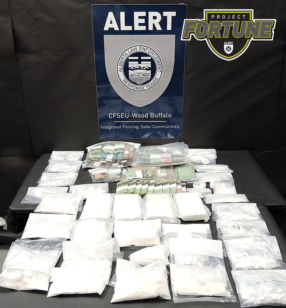 $1M In Cocaine, Cash Seized From Fort McMurray, Edmonton and Sherwood Park