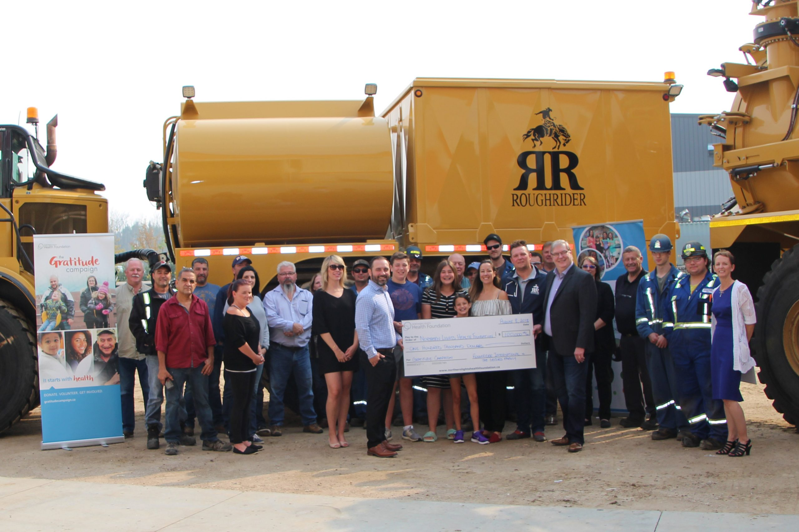 Gratitude Campaign Receives $100,000 Donation Toward MIS Project