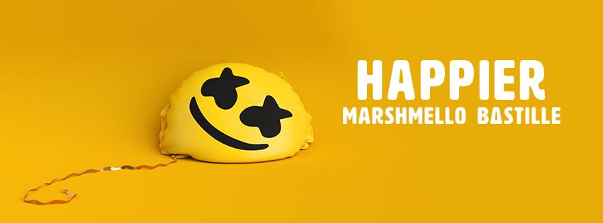 NEW MUSIC: Marshmello ft. Bastille - Happier