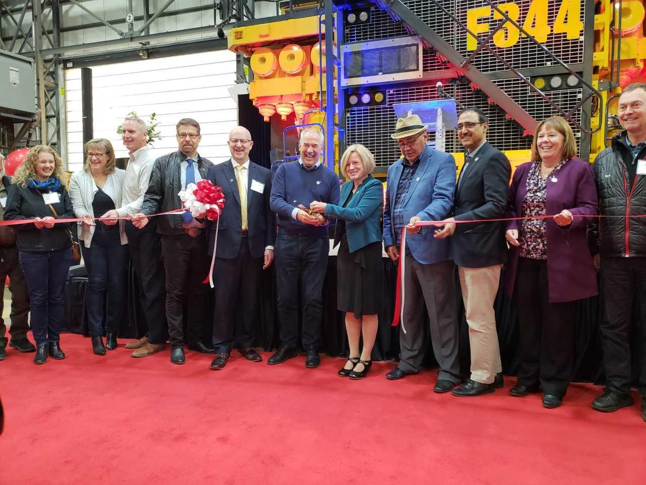 Suncor's Fort Hills Site Celebrates Grand Opening