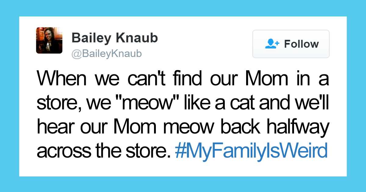 Twitter Shared How Crazy Their Families Are