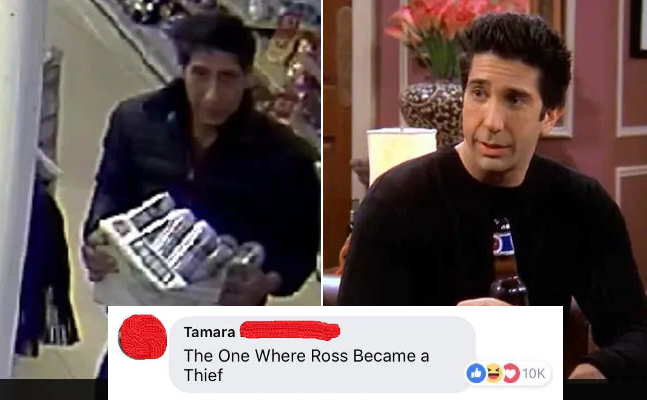 The Internet Is Obsessed With This Criminal Who Looks Like Ross from FRIENDS!
