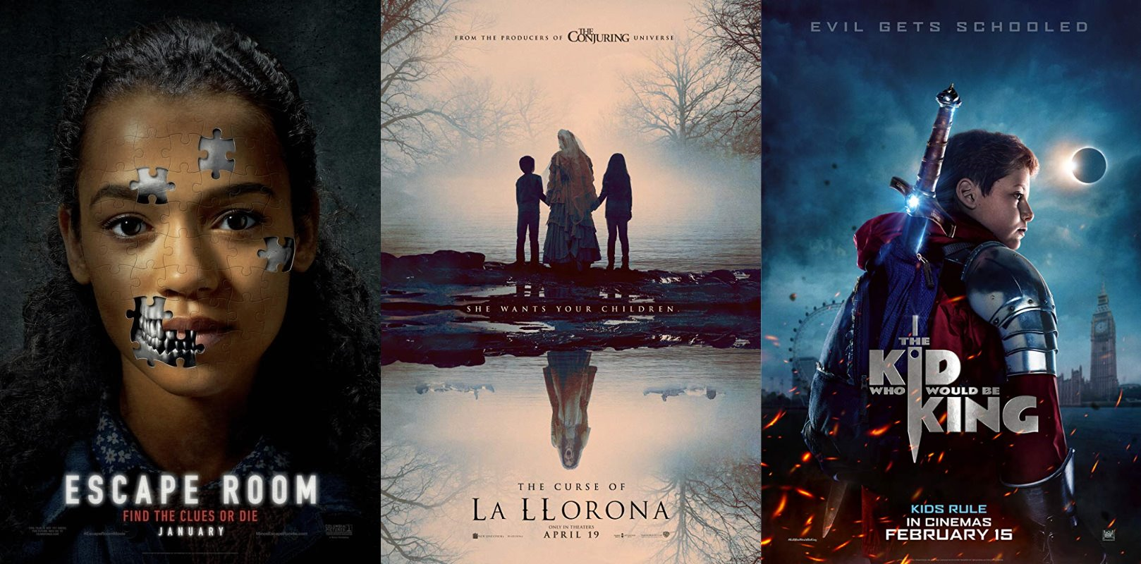 Trailer Watchin Wednesday Escape Room The Curse Of La Llorona