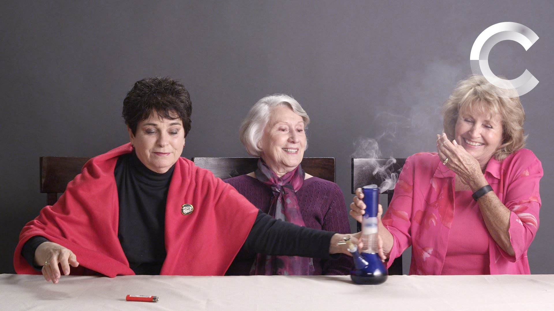 WATCH: Grandmas Smoking Weed for the First Time