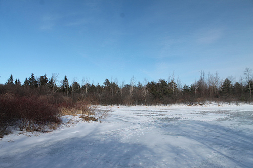 RCMP Reminding Residents To Be Careful Around Frozen Bodies of Water