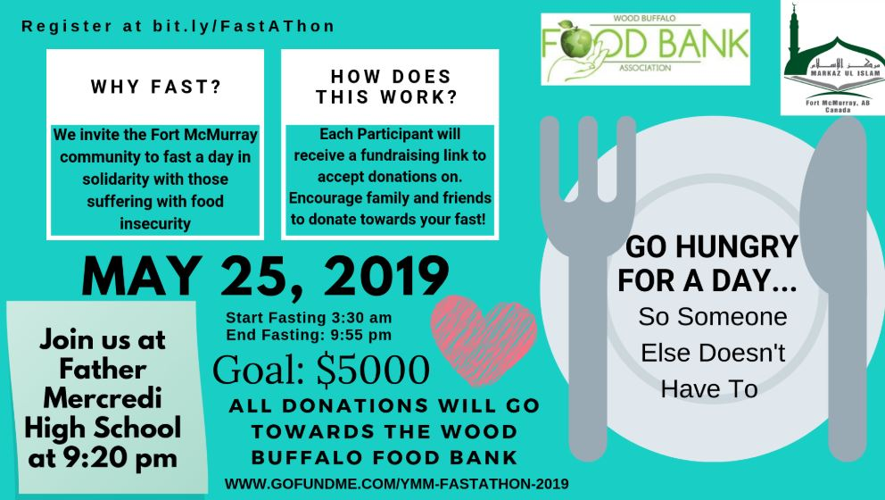Markaz Ul Islam Invites Residents To 'Fast-A-Thon' In