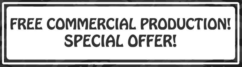 Special Offer Banner - black