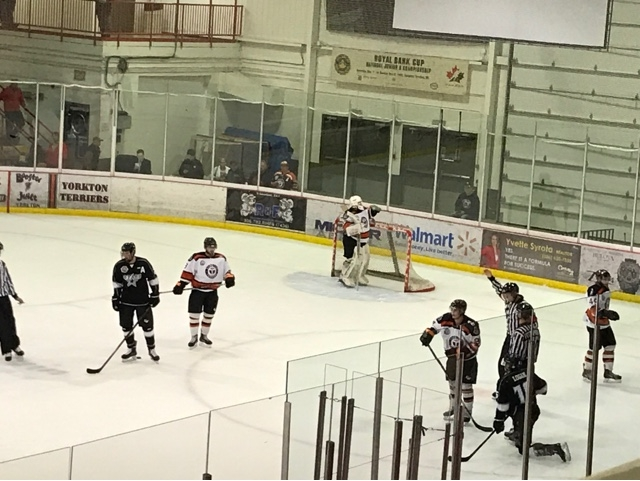 Yorkton Terriers get first W of 16/17 with a 5-1 win over Battlefords