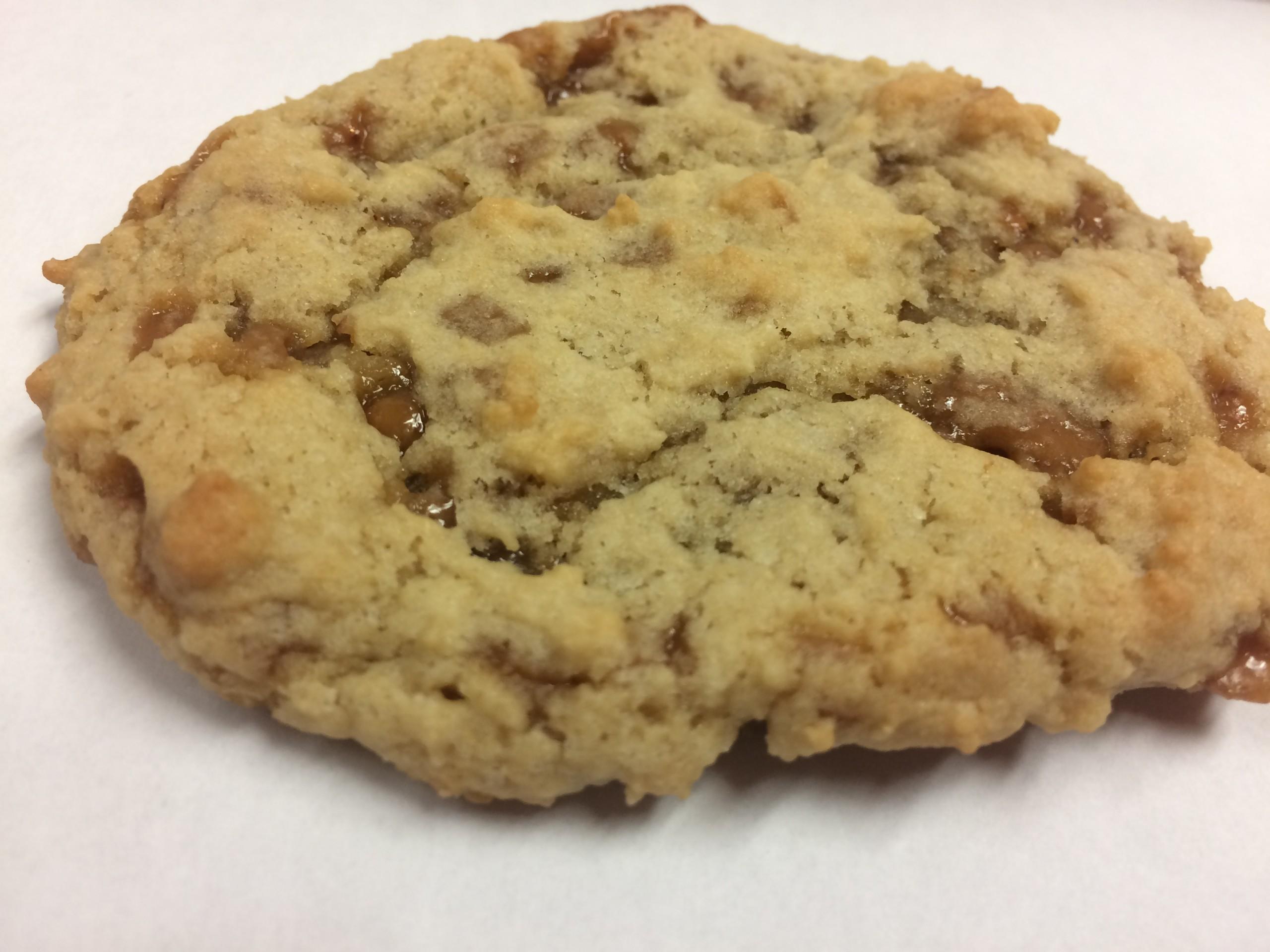 Chewy Skor Toffee Bits Cookies