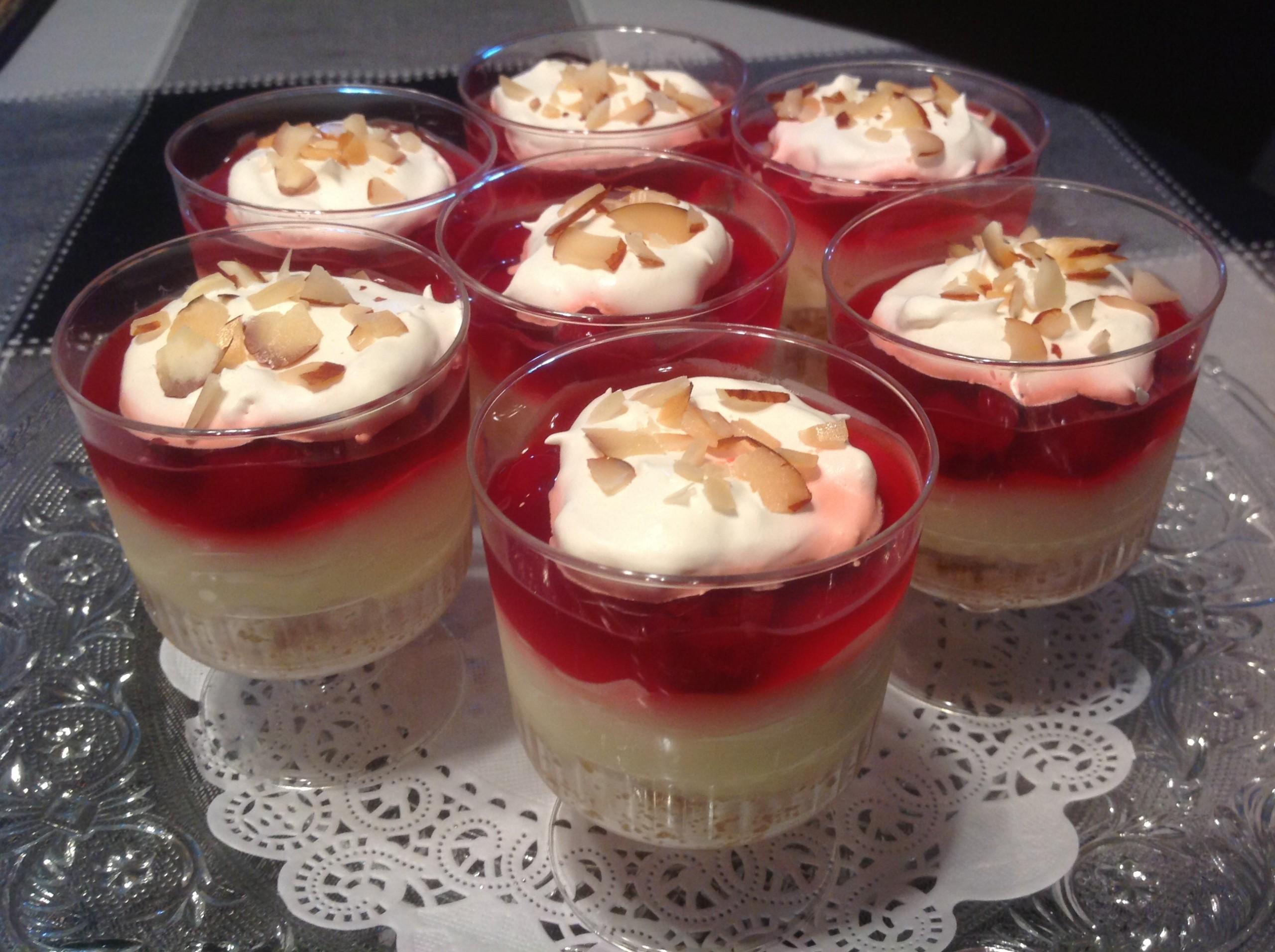 Cherry Almond Dessert
