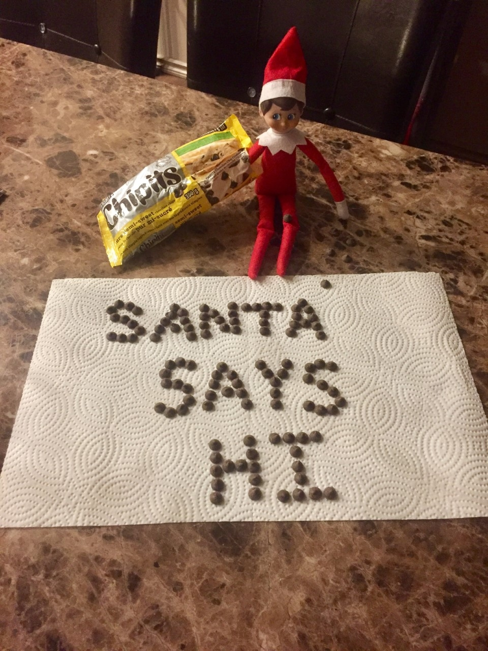 Ralph the Elf has a message for my boys