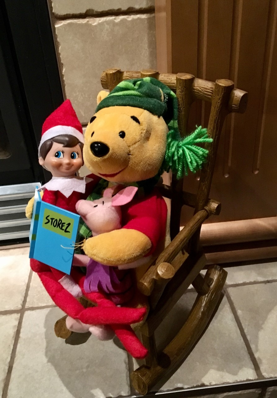 Story Time with Ralph The Elf