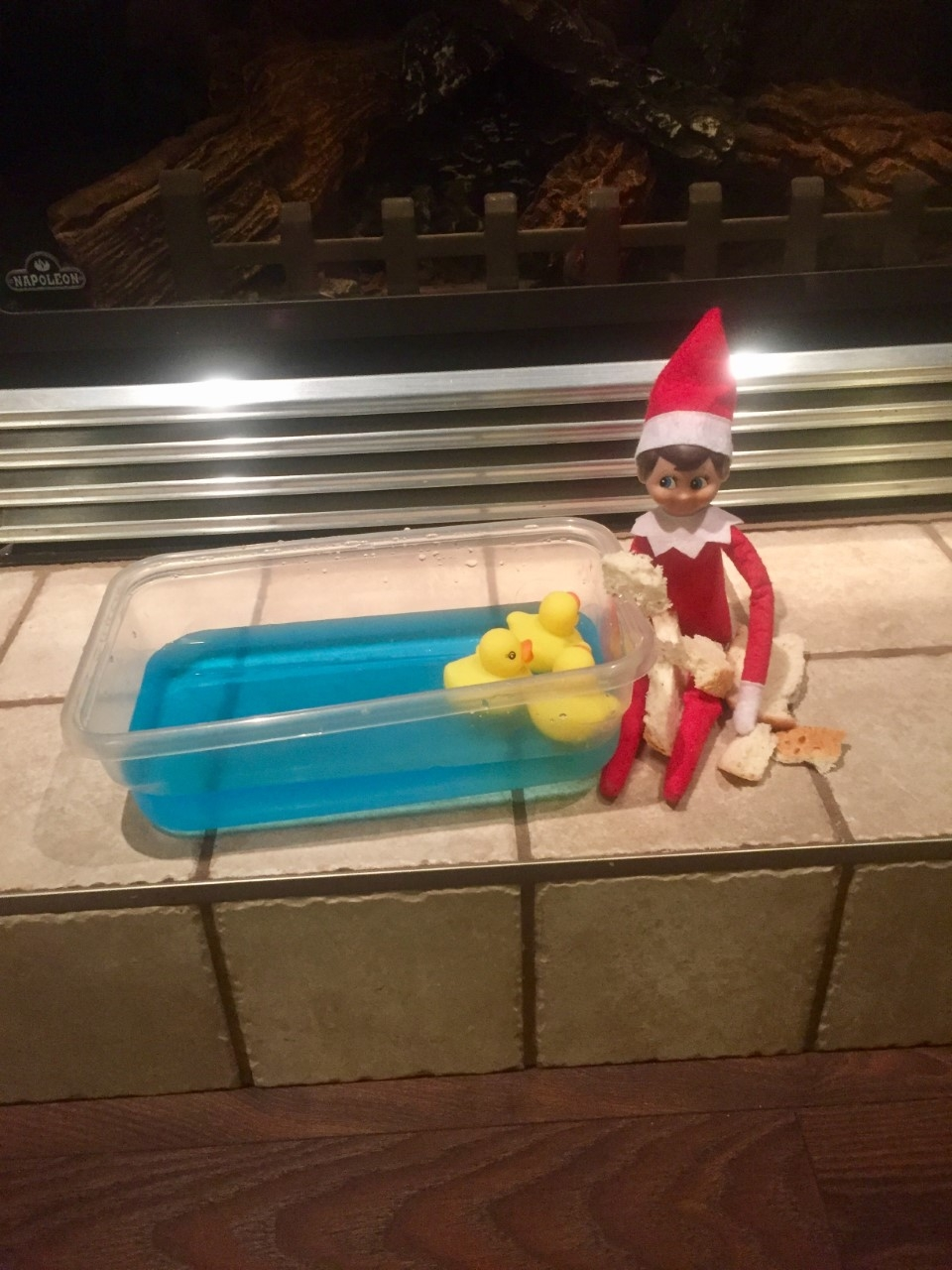 Silly Ralph The Elf.