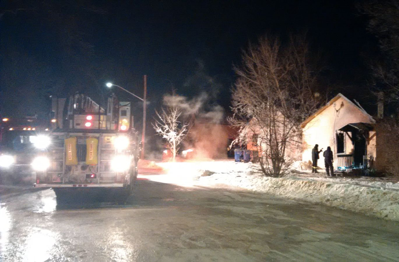 Dauphin RCMP investigating a Tueday night house fire