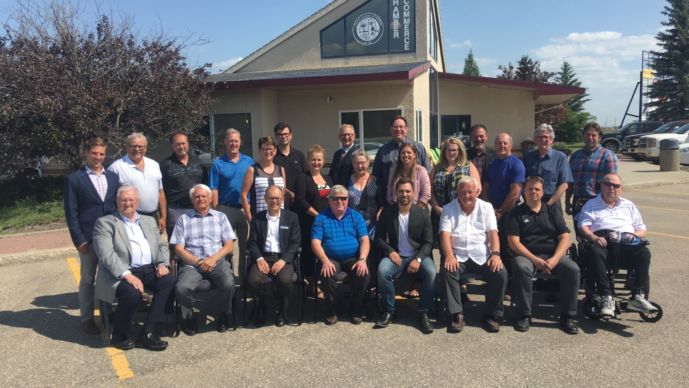 Past Yorkton Chamber Presidents Meet